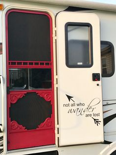 Glamped rv door❤