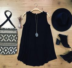 All black, all day. #allblackeverything #bohochic #studio1220