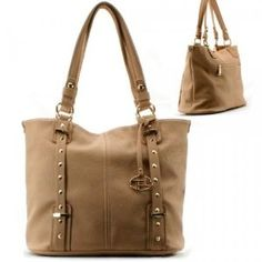 Golden Hardware Purse and Bag