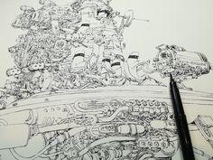 Mattias Inks: traveling incognito