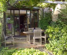 A cool, green summer #home #office for @KatyDuke