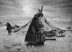 Siberia by Sebastião Salgado For his latest epic project, Genesis, photographer Sebastião Salgado spent eight years documenting parts of the world untainted by modern life. Here, he shares the images he took of the nomadic Nenets of northern Siberia Documentary Photographers, Great Photographers, Edward Weston, Siberia Russia, Arctic Circle, Ansel Adams, Travel Photographer, Photojournalism, Street Photography