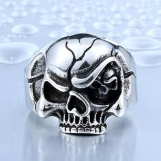 f0466dc7cb93 Shop bikers skull rings online shop today in United States  Harley Davidson  men   women stainless steel