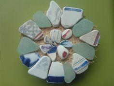 Scottish beach pottery and sea glass mix  Scottish sea by SewISea
