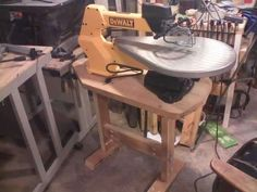 table/stand for scroll saw idea