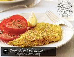 Pan-Fried Flounder – Weight Watchers