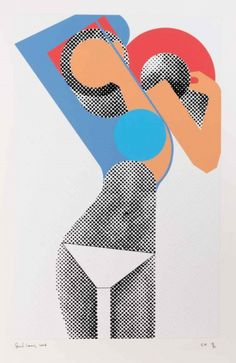 Gerald Laing, 'Kate Moss'