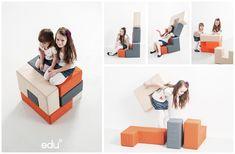 playroom seating and imaginative play