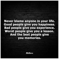 I have had plenty of experience and lessons. But thankfully, by the Grace of God, I have also had my fair share of happiness and memories.