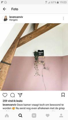Taupe roze karwei