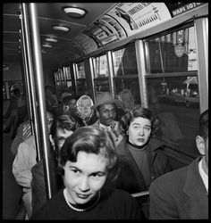 Years before the Freedom Riders boarded buses on May 4, 1961, bus integration laws were being tested in the South. Six days after the U.S. Supreme Court ruled that Montgomery city buses must integrate, the Rev. Fred Shuttlesworth and others challenged the law in Birmingham, Ala., by joining white passengers on a city bus, Dec. 26, 1956. Shuttlesworth boarded the bus hours after a bomb exploded inside his Collegeville, Ala., house.