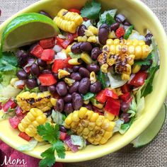 Mexican Chopped Salad with Creamy Avocado Dressing Recipe. This healthy dish is packed with fiber-rich black beans and plenty of fresh herbs and vegetables. Great salad recipe to prep for lunches. Mexican Chopped Salad, Chopped Salad Recipes, Avocado Salad Recipes, Ranch Dressing Recipe, Salad Dressing Recipes, Salad Dressings, Sin Gluten, Gluten Free, Yogurt