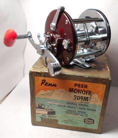 NICE Vintage PENN REELS Peer 209 Conventional Fishing Reel & Box Excellent Reel #PENN