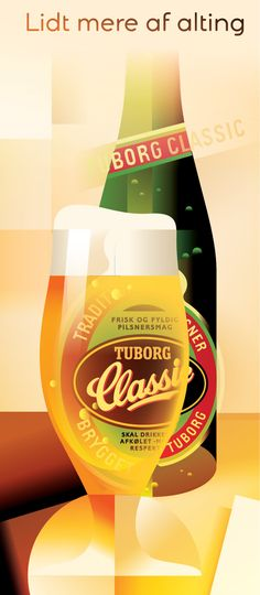Tuborg Classic Beer Advertisement, Retro Advertising, Beer Quotes, Beer Poster, Beers Of The World, All Beer, Belgian Beer, Beer Brewery, Beer Cans