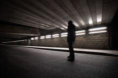 The unknow - photographie urbaine de nuit