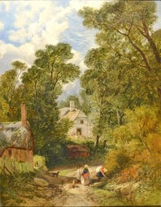 Pyrford, Surrey by FREDERICK WILLIAM HULME - Cider House Galleries