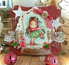 The day before Christmas Stocking Tilda