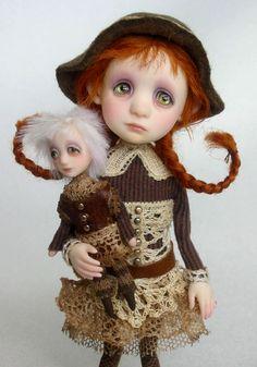 Amy- original doll by Ana Salvador