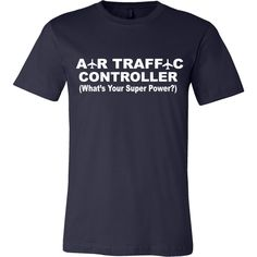 Air Traffic Control Tee - Front Design