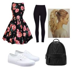 Untitled #1 by obey-the-myla on Polyvore featuring polyvore, fashion, style, Vans, women's clothing, women's fashion, women, female, woman, misses, juniors, newbie and tomboyandgirlygirl
