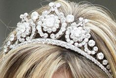 """MIS JOYAS REALES"": Holanda: Tiara de Diamantes"