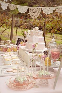 Dessert buffet beautiful