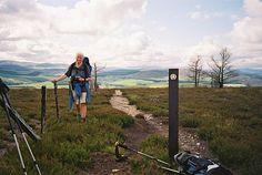Speyside Wey hike in Scotland