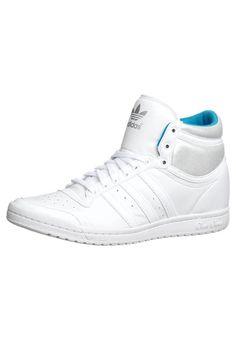new concept 551ed 97a93 adidas Originals - TOP TEN HI SLEEK HEEL - Korkeavartiset tennarit -  valkoinen Adidaksen Jalkineet,
