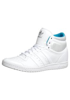 *YYYEEESSSSSSSSSSSSS...  adidas Originals - TOP TEN HI SLEEK HEEL - High-top trainers - white