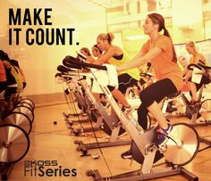 Make it count! Don't waste your workout readjusting your headphones.#Fit4Life