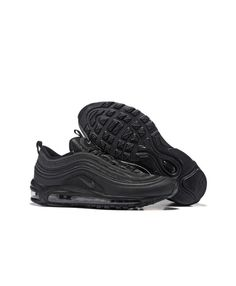 wholesale dealer 28cd2 bcdd3 Men s Nike Air Max 97 All Black Trainers UK Store Sale