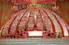 Weddings Discover Explore more Reception Stage Ideas & Styles on ArtistryC. Reception Stage Decor, Wedding Stage Design, Wedding Reception Backdrop, Wedding Mandap, Desi Wedding Decor, Wedding Hall Decorations, Luxury Wedding Decor, Backdrop Decorations, Backdrops