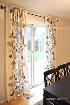 Welcome To Our Dining Area We Dont Have A Huge House So Do Not Actually Formal Room IKEA Curtains