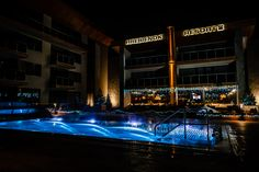 Lights out! The night and its darkness and low temperatures is no match for our intelligent pool designs. Enjoy, splash and thrash around in water no matter what time of the day you want to do it during your stay at the hotel. The lights and warm water will keep you feeling fresh and balanced. Just watch out for the shock when you come out of the water! Feel qualities of perfect pool with Wonderwerk. #eveningswimming #poollighting #wellnesshotel Best Spa, Wet Dreams, At The Hotel, Pool Designs, Darkness, How Are You Feeling, Swimming, Lights, Crystal