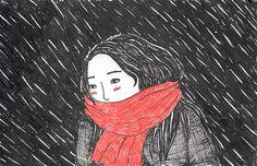catalinabodoque:  bajo el frío