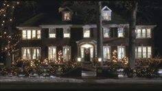 The real Home Alone house in Winnetka, IL is just as beautiful as it is in the movie.