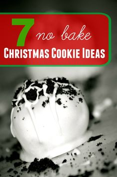 7 No Bake Christmas Cookies...I'm gathering idea for an upcoming Christmas cookie exchange...these peppermint Oreo balls and cookie dough truffles sound divine!