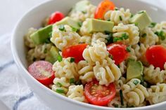 Chipotle Pasta Salad ... love anything southwest :)