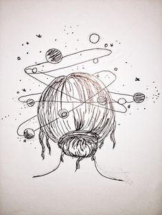 Pencil Art Drawings, Easy Drawings, Tattoo Drawings, Drawing Sketches, Drawing Ideas, Tattoos, Drawings Pinterest, Tumblr Art, People Art