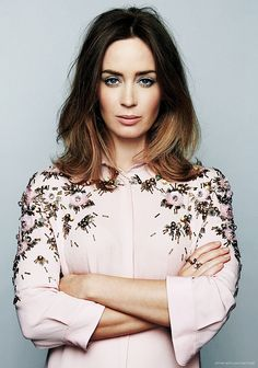Emily Blunt by Danielle Levitt for The Guardian • 2014