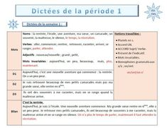 French Grammar, Cycle 3, Thing 1, Teacher, Education, Learning, School, Mets, Montessori