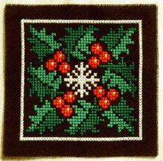 winter square pattern - could adapt for biscournu