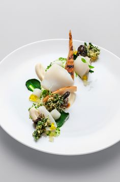 Cod, Snails, Parsley and Lemon | Martin Klein