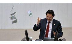 Bursa milletvekili Aykan Erdemir mecliste Euro dağıttı #17aralık #bursa #haber #siyaset #politika #TBMM