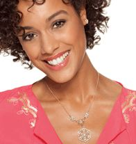 Fancy Filigree Necklace and Earring Gift Set  http://llroberts.avonrepresentative.com