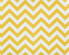 LOVE this chevron print in daffodil colors!