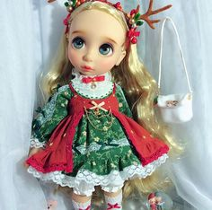 Image result for christmas doll clothes