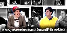 Dan is all XD and Phil is o.o