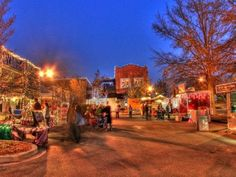 Each Year This South Carolina Town Transforms into a Winter Wonderland | And you'll never guess what it's called.