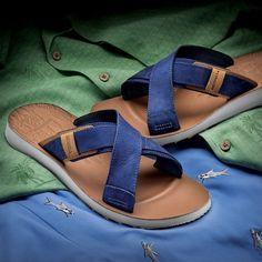 81c1fa62698a2 Merrell Men s Dockside Cross-Strap Slide Merrell Sandals